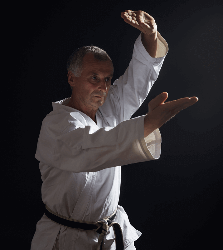 Martial Arts Lessons for Adults in Bossier City LA - Older Man