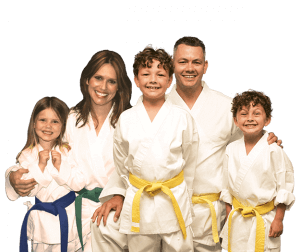 Martial Arts Lessons for Families in Bossier City LA - Group Family for Martial Arts Footer Banner