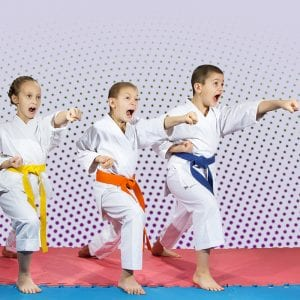 Martial Arts Lessons for Kids in Bossier City LA - Punching Focus Kids Sync