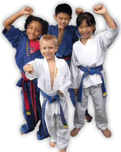 Martial Arts Summer Camp for Kids in Bossier City LA - Happy Group of Kids Banner Summer Camp Page